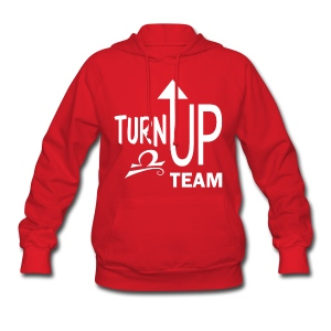 Libra Turn up fun tee - Women's Hoodie