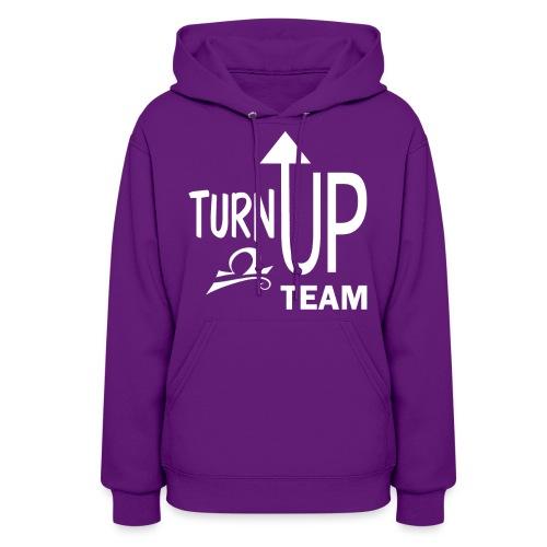 Libra Turn up fun tee - Women's Hoodie