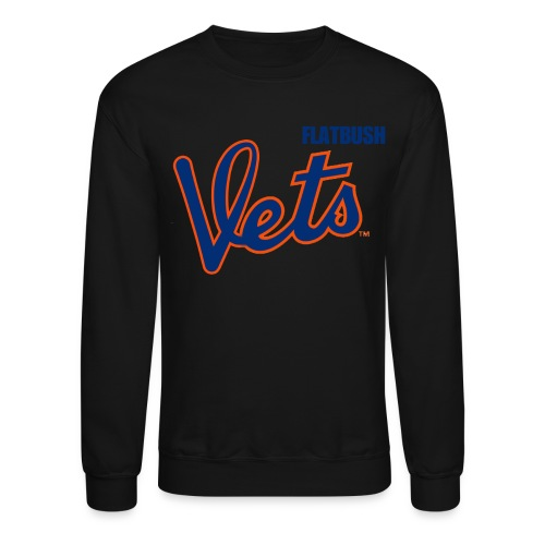 Flatbush Vets NY Crewneck - Crewneck Sweatshirt