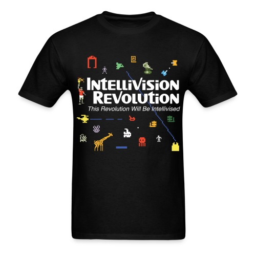 Intellivision Revolution 2015 shirt - Men's T-Shirt