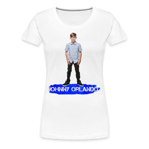 Johnny Orlando T-Shirt (Womens) - Women's Premium T-Shirt