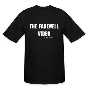 Official Farewell video T shirt  - Men's Tall T-Shirt