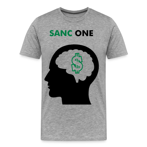 Sanc One Money On My Mind - Men's Premium T-Shirt