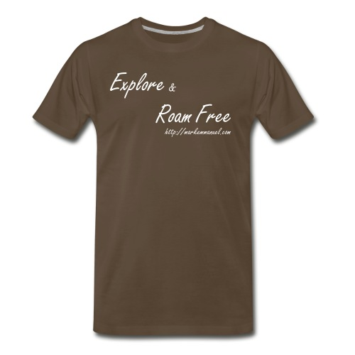 Explore Roam Free - Male - Men's Premium T-Shirt