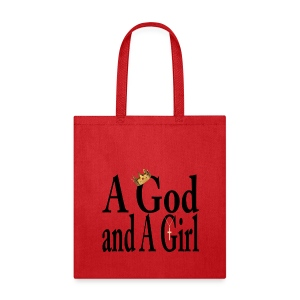 A God and A Girl Tote - Tote Bag