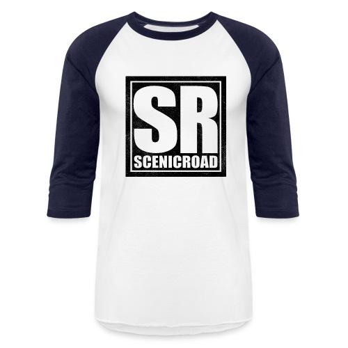 Scenic Road Emblem Baseball Tee - Baseball T-Shirt