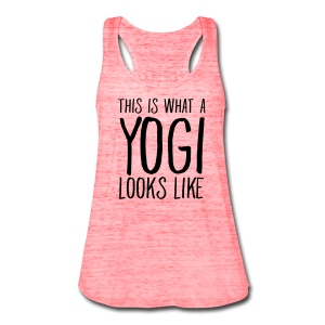 This is what a Yogi looks like Tank top - Women's Flowy Tank Top by Bella
