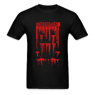 T-Shirts ~ Men's T-Shirt ~ Bloody Buddy Red