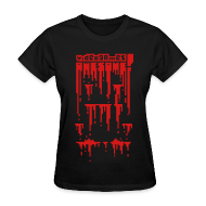 T-Shirts ~ Women's T-Shirt ~ Bloody Buddy Red
