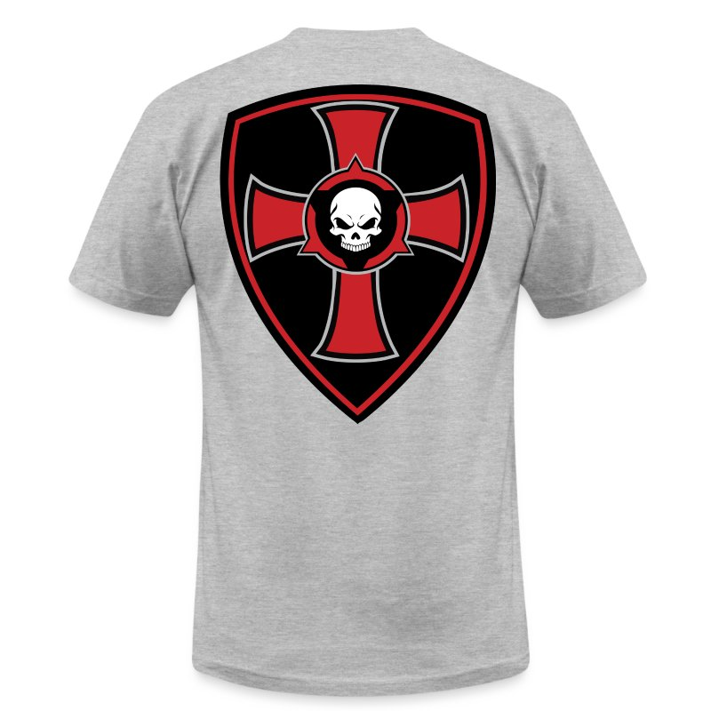 Crusader Shield - Men's Fine Jersey T-Shirt