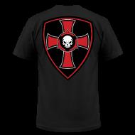 T-Shirts ~ Men's T-Shirt by American Apparel ~ Crusader Shield