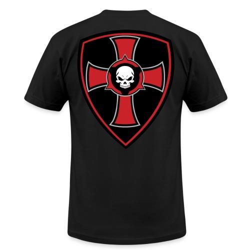 Crusader Shield - Men's  Jersey T-Shirt