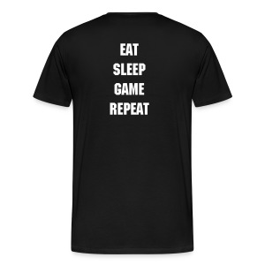 Eat sleep Game Repeat! - Men's Premium T-Shirt