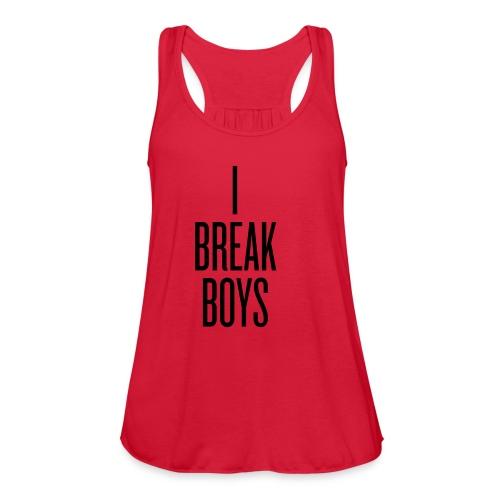 I Break Boys - Women's Flowy Tank Top by Bella