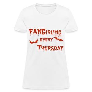 Fangirling Red - Women's T-Shirt