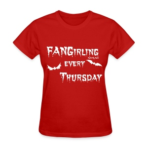 Fangirling White - Women's T-Shirt
