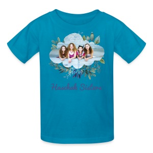 Haschak Sisters Shirt (Blue 1) - Kids' T-Shirt