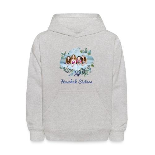 Haschak Sisters Hoodie (Grey 1) - Kids' Hoodie