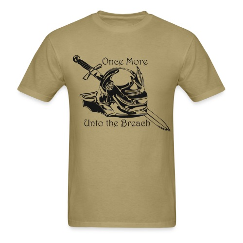 Shakespeare and Steel Men's T - Men's T-Shirt