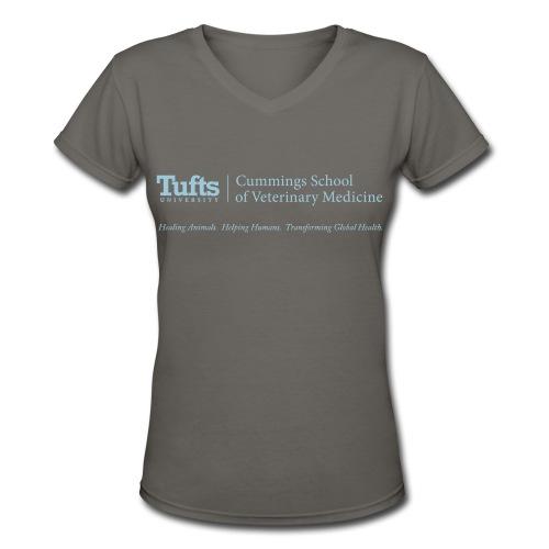 Women's V-neck T-shirt - Name - Women's V-Neck T-Shirt