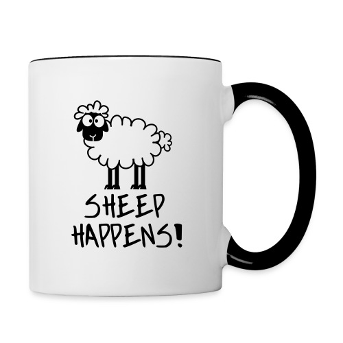 sheep - Contrast Coffee Mug