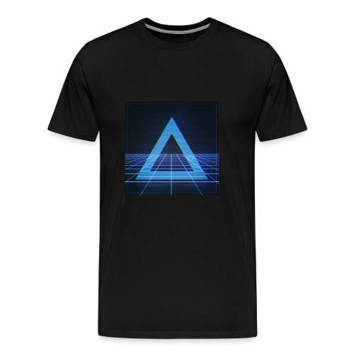 Pyth Dimension Logo Men's T-Shirt - Men's Premium T-Shirt