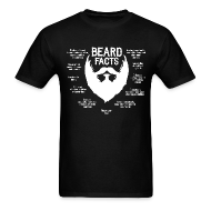 T-Shirts ~ Men's T-Shirt ~ Beard Facts (white)