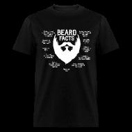 T-Shirts ~ Men's T-Shirt ~ Beard Facts (white)