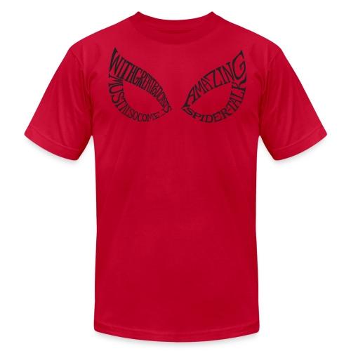 AMAZING SPIDER-TALK EYES Tee - Men's Fine Jersey T-Shirt