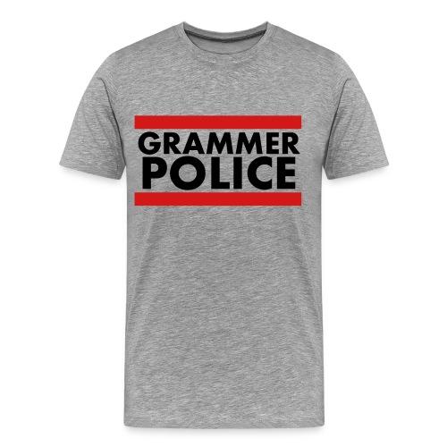 Grammar Police Shirt - Men's Premium T-Shirt