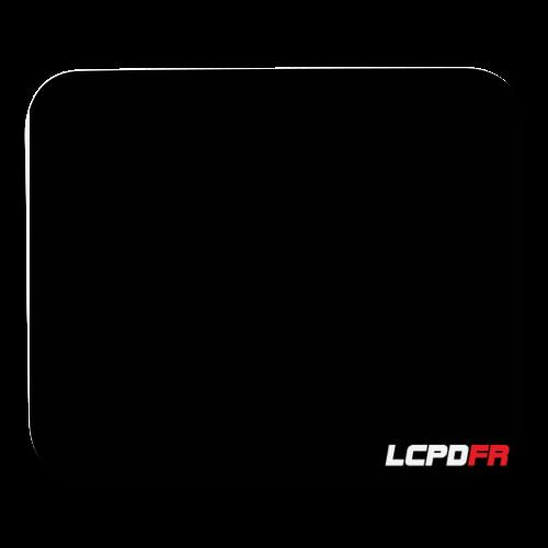 LCPDFR Logo Mousepad - Mouse pad Horizontal