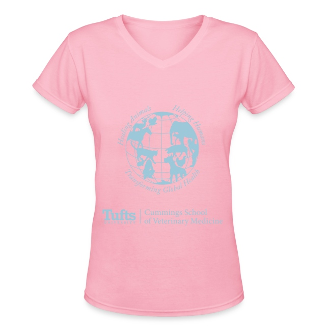 Women s V-neck T-shirt - Globe 6676492d7