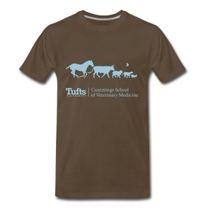 Men's T-shirt - Running Animals - Men's Premium T-Shirt
