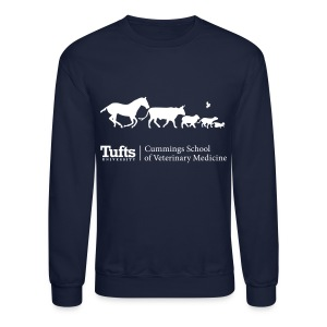 Crewneck Sweatshirt - Running Animals - Crewneck Sweatshirt