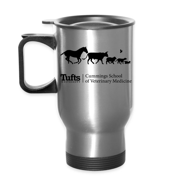 Travel Mug - Running Animals