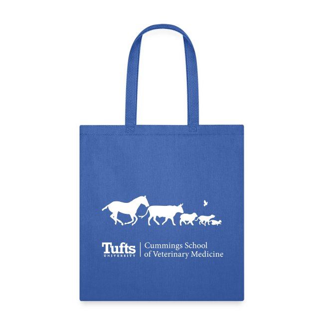 Canvas Tote - Running Animals
