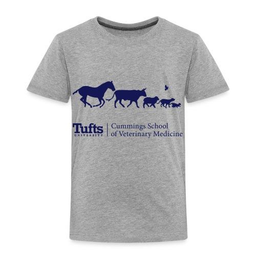 Toddler T-shirt - Running Animals - Toddler Premium T-Shirt