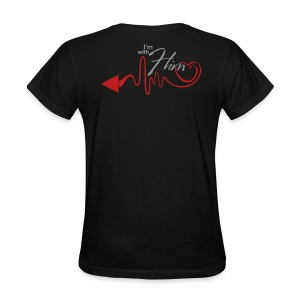 With Him - st - Women's T-Shirt
