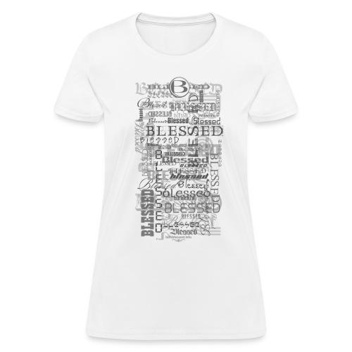 Blessed All-Over Women's T - lt - Women's T-Shirt