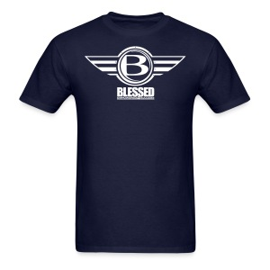 Blessed Airborn T - drk - Men's T-Shirt