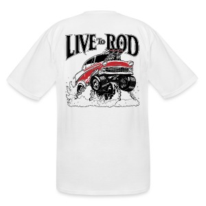 LiveTo Rod 56 Gasser Mens T-shirt - Men's Tall T-Shirt