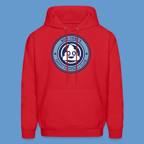 New York's Shitty Football Club - Red Hoodie (men's) - Men's Hoodie