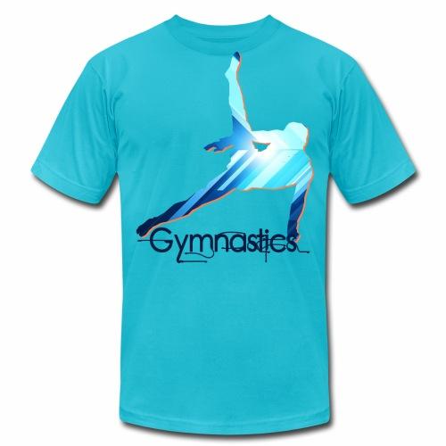 Gymnast's Silhouette Shirts - Men's Fine Jersey T-Shirt