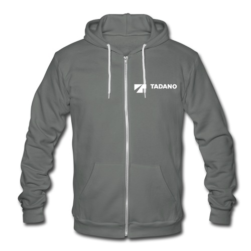 Grey Tadano Sweatshirt - Unisex Fleece Zip Hoodie