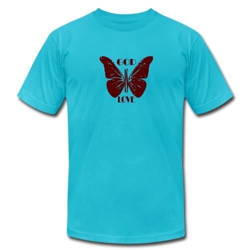 God is Love - Men's  Jersey T-Shirt