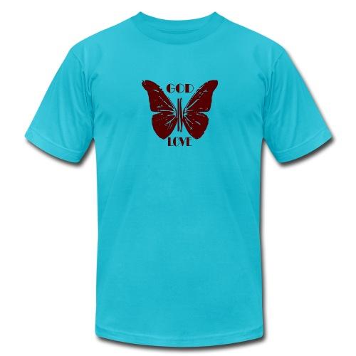 God is Love - Men's Fine Jersey T-Shirt