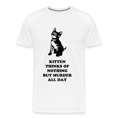Murder Kitten - Men's Premium T-Shirt