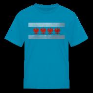 Kids' Shirts ~ Kids' T-Shirt ~ Polish Chicago Flag