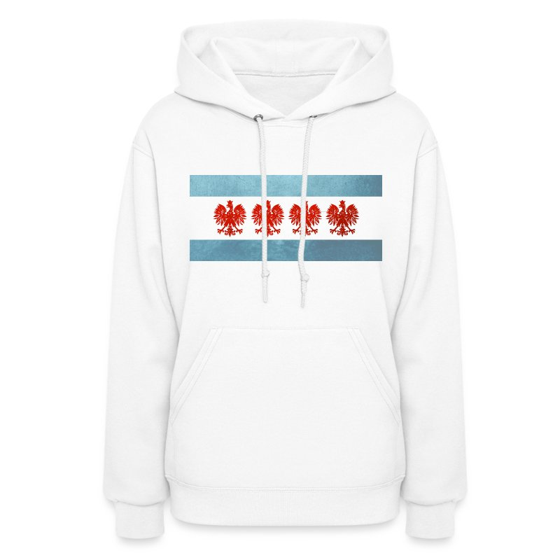 Polish Chicago Flag - Women's Hoodie