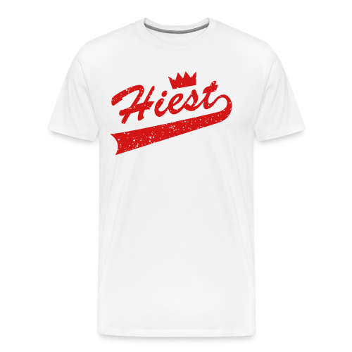 White Classic Crown - Jordan 5 'Supreme' - Men's Premium T-Shirt